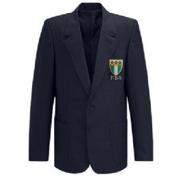 Friern Barnet Boys Navy Blazer with Logo