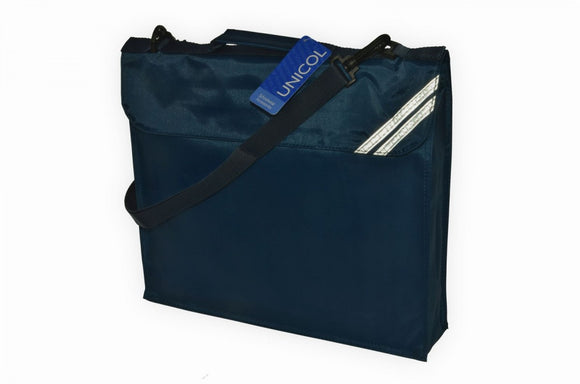 Teversham Navy Despatch Bag with Logo