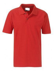 School Order Colville Primary Red Sports Poloshirt with Logo