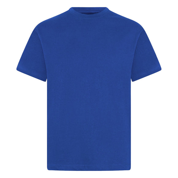 Oak Supportive Royal Teeshirt with Logo