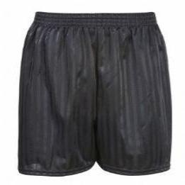 Poolsbrook Black PE Shorts