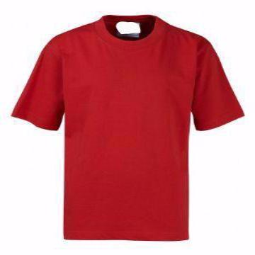 Abingdon & Witney Red Teeshirt with Logo