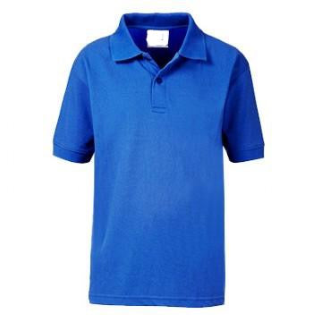 Teversham Pre School Royal Poloshirt with Logo