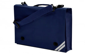 Teversham Navy Document Case with Logo
