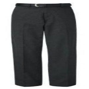 Charcoal Grey Flat Front Boys Trousers