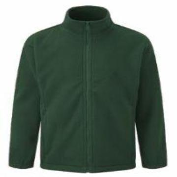 Paulerspury Bottle Green Fleece with Logo