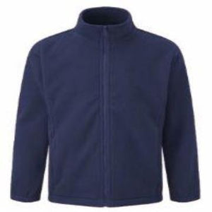 Hollingwood Navy Fleece with Logo