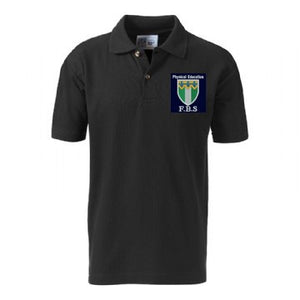 Friern Barnet Black P.E Poloshirt with Logo