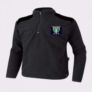 Friern Barnet Black PE Micro Fleece with Logo