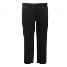 Black Trimley Girls Slim Fit Trousers