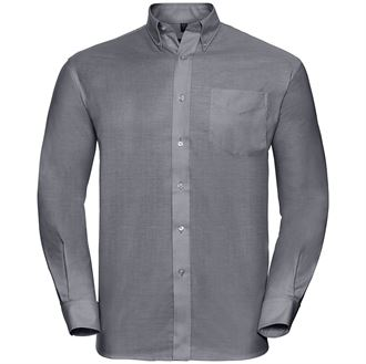 Long Sleeve Easycare Male Oxford Shirt