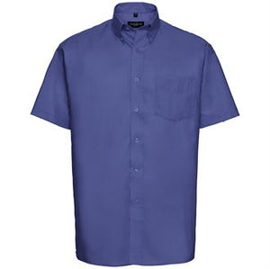 Short Sleeve Easycare Male Oxford Shirt