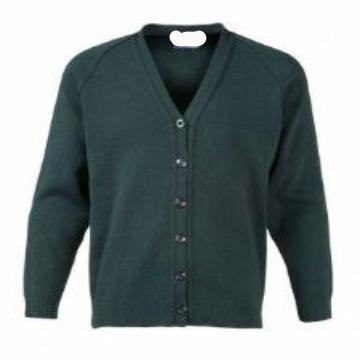 Gayton Bottle Knitted Cardigan with Logo