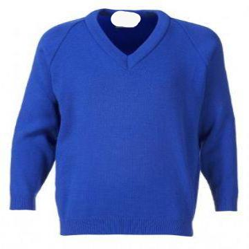 Old Hall Junior Royal Knitted Jumper with Logo