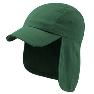 Paulerspury Bottle Green Legionnaire Cap with Logo