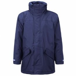 Brockwell Junior Parka Jacket with Logo