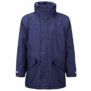 Colville Primary Navy Parka Jacket with Logo