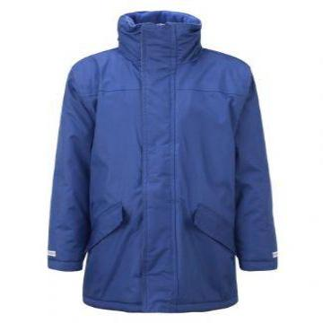 Old Hall Junior Royal Parka Jacket with Logo