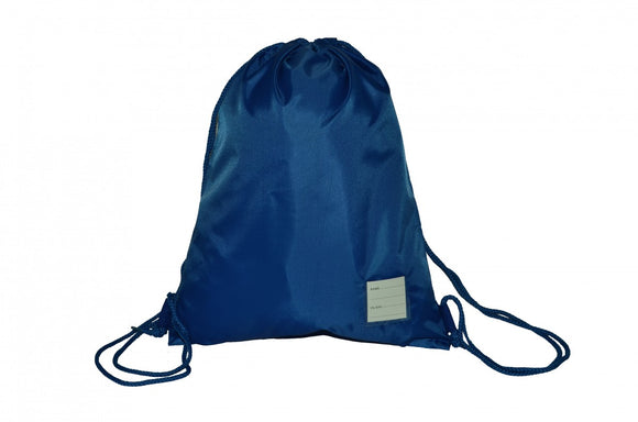 Colville Primary Navy PE Bag with Logo