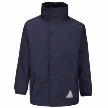St John Navy Storm Dry Jacket with Logo