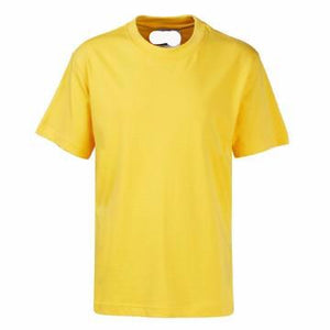 St Joseph's Gold PE Teeshirt with Logo