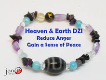 Load image into Gallery viewer, Reduce Anger with Specialty DZI - Healing Gemstones