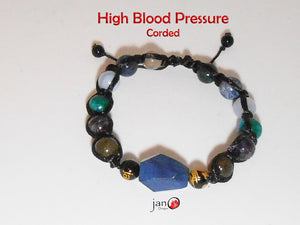 "High Blood Pressure - Corded 8"" - Healing Gemstones"