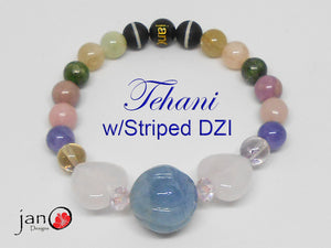 The Tehani Collection Blue Bracelet - Healing Gemstones