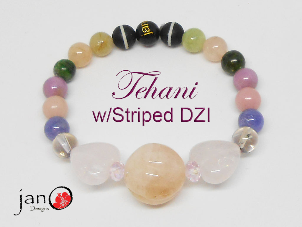 The Tehani Collection Pink Bracelet - Healing Gemstones