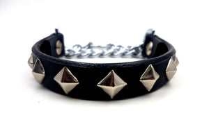 Half Check Collar (35cm Studded)