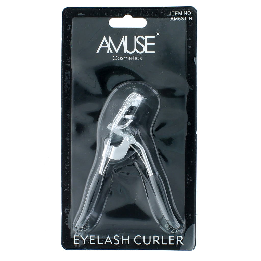 Professional Eyelash Curler Refill Pad Curling Beauty Tool Chrome