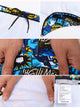Comic Strip Brazilian Cut Briefs in Blue