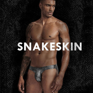 Metallic Snake - Swim Brief