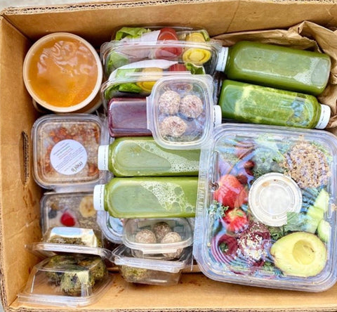 Active Box (combination snacks & detox)
