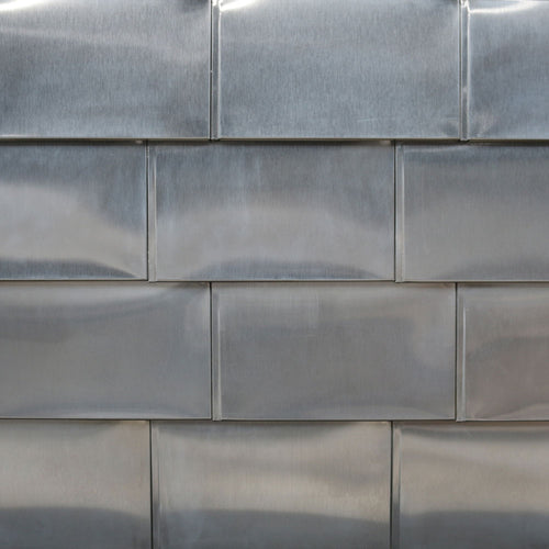 304 Stainless Steel Flat Tile - #4 polish