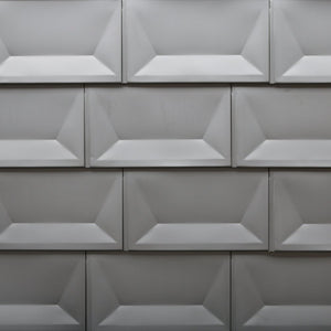 304 Stainless Steel Cupped Tile - Pewter Mill