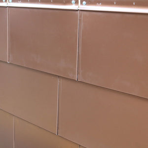 Anodized Aluminum Flat Tile - Copper Penny