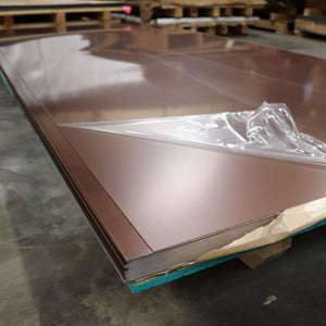 "Anodized Aluminum 48""x120"" sheets - Copper Penny"