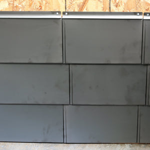 304 Stainless Steel Flat Tile - Slate Mill