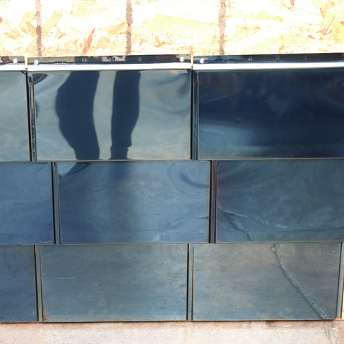 304 Stainless Steel Flat Tile - Blue Bright