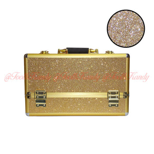 Gold Glitter Tooth Fairy Case