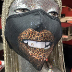 """Leopard lips"" Mask"
