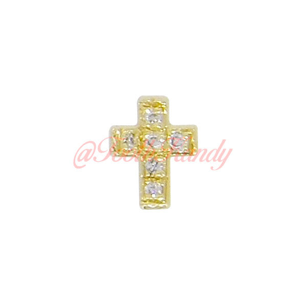 Cross with 6 Diamonds
