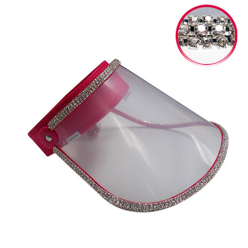 Face shield (pink)