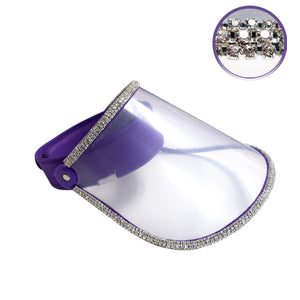 Face shield (purple)