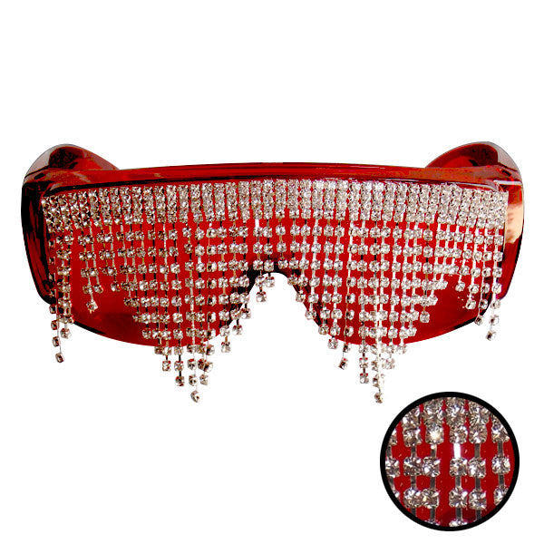 UV Light Protection Glasses with crystals