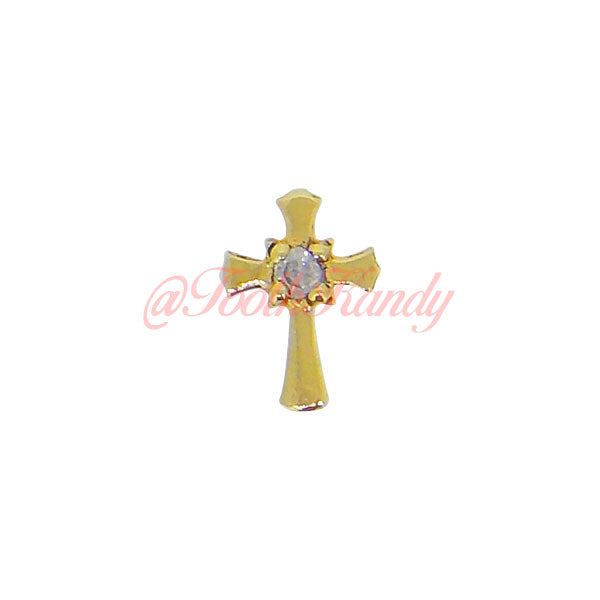 Sacred Cross with Diamond
