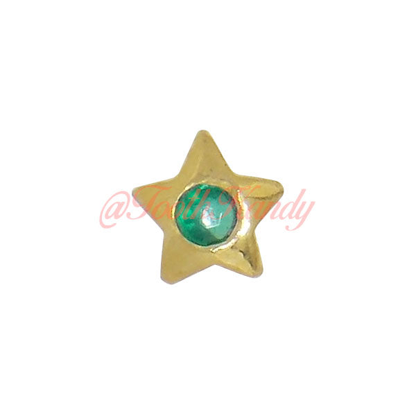 Star with Emerald