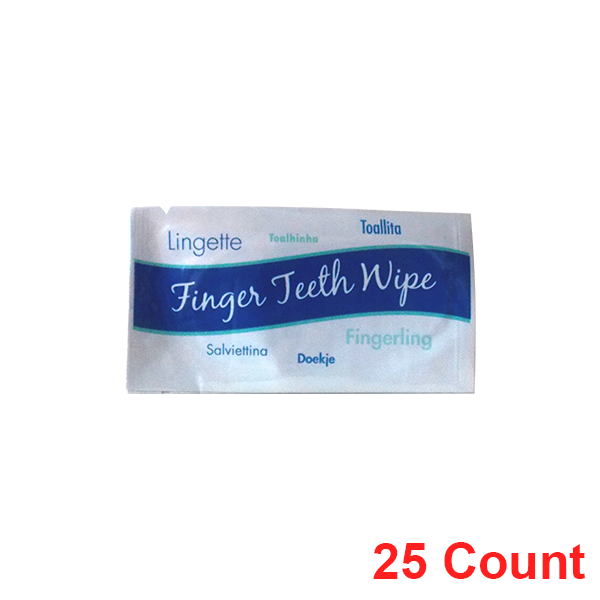 Finger teeth wipes