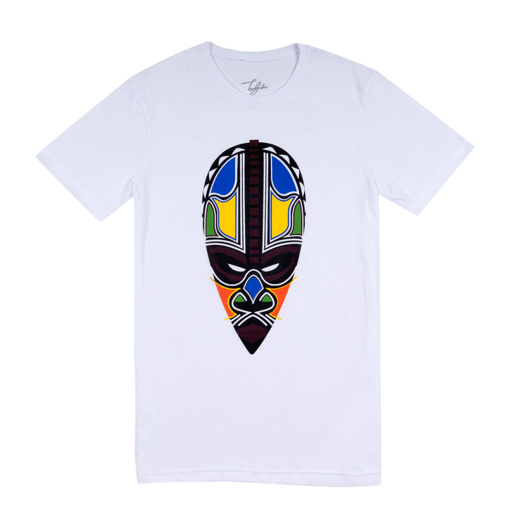 KAKAMEGA KISUMU WARRIOR MASK (UNISEX SHORT SLEEVE T-SHIRT)
